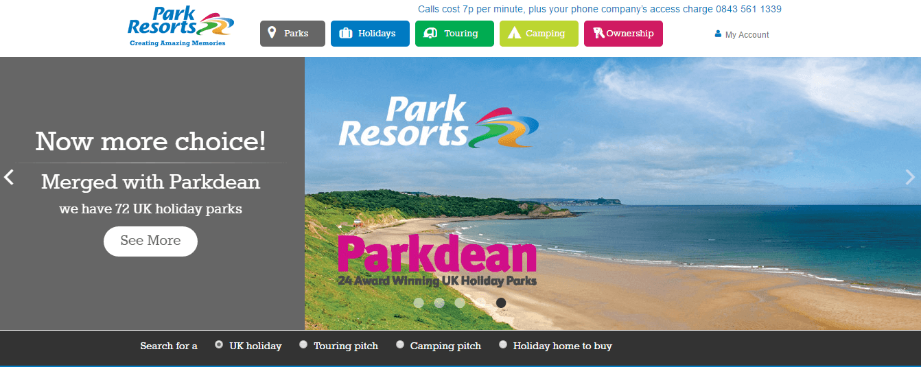 Save with these Parkdean Resorts promo codes valid in December Choose from 6 verified Park Resorts voucher codes and offers to get a discount on your online order.