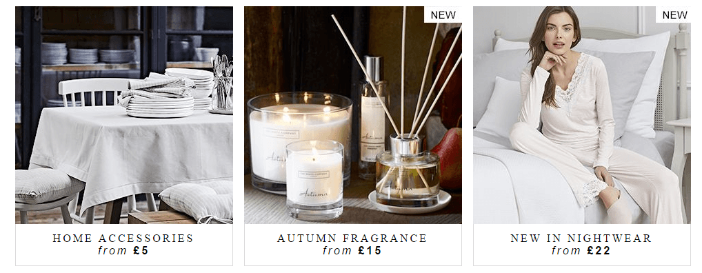The White Company UK Vouchers